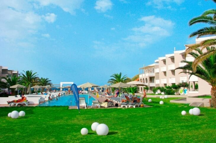Platanias Holiday resort