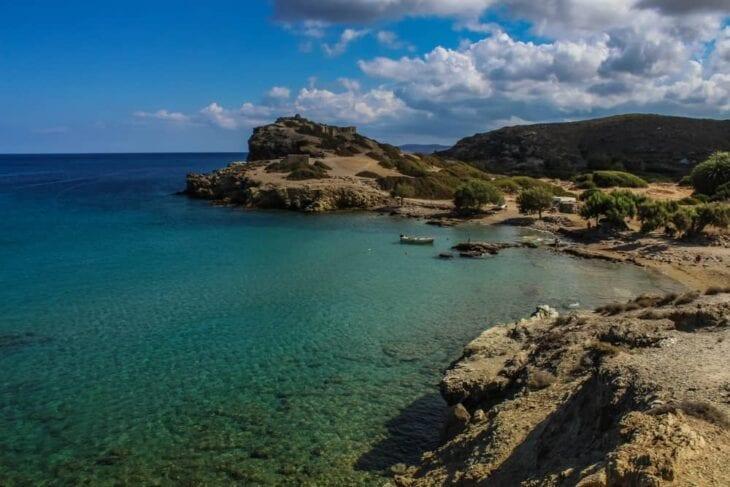 Plaże Itanos