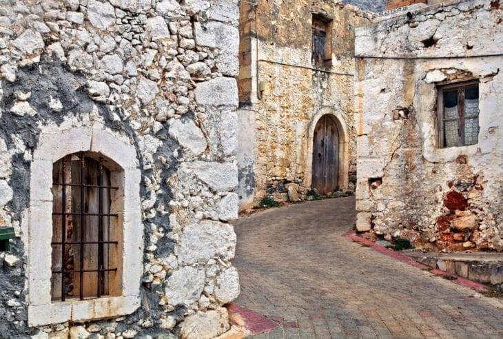 Кутулуфари деревня Крит