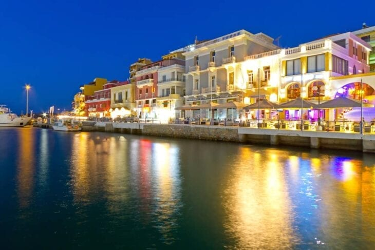 Night Strolls and lights in Agios Nikolaos