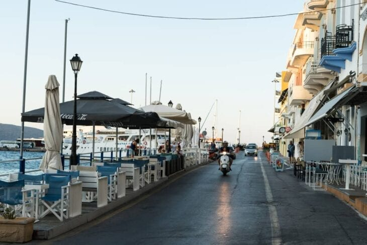 Hafenstraße Agios Nikolaos