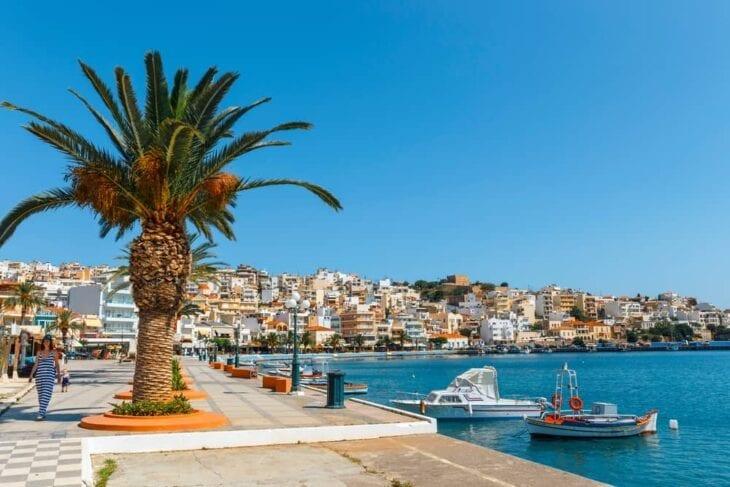 Sitia Crète, en Grèce