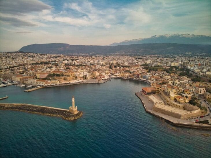 Chania Aerial View