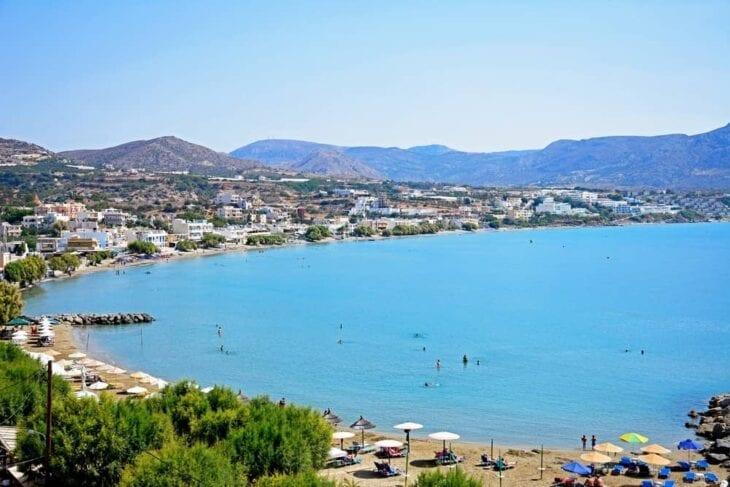 Makrigialos Crete - Beach view