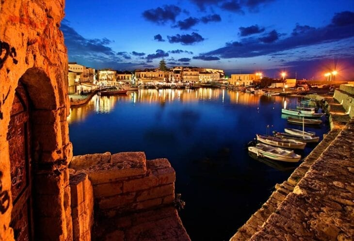 Picturesque Old Harbor of Rethymno