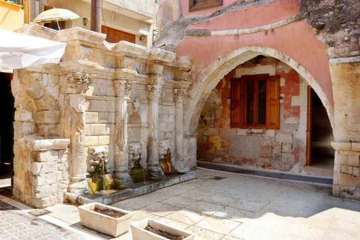 Rimondi Fountain in Rethymno
