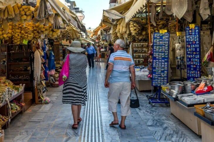 Centralny targ w Heraklionie