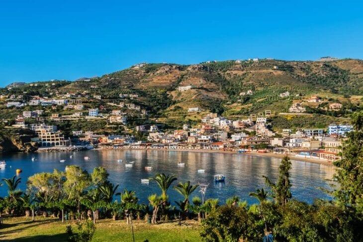Nadmorskie miasto Agia Pelagia