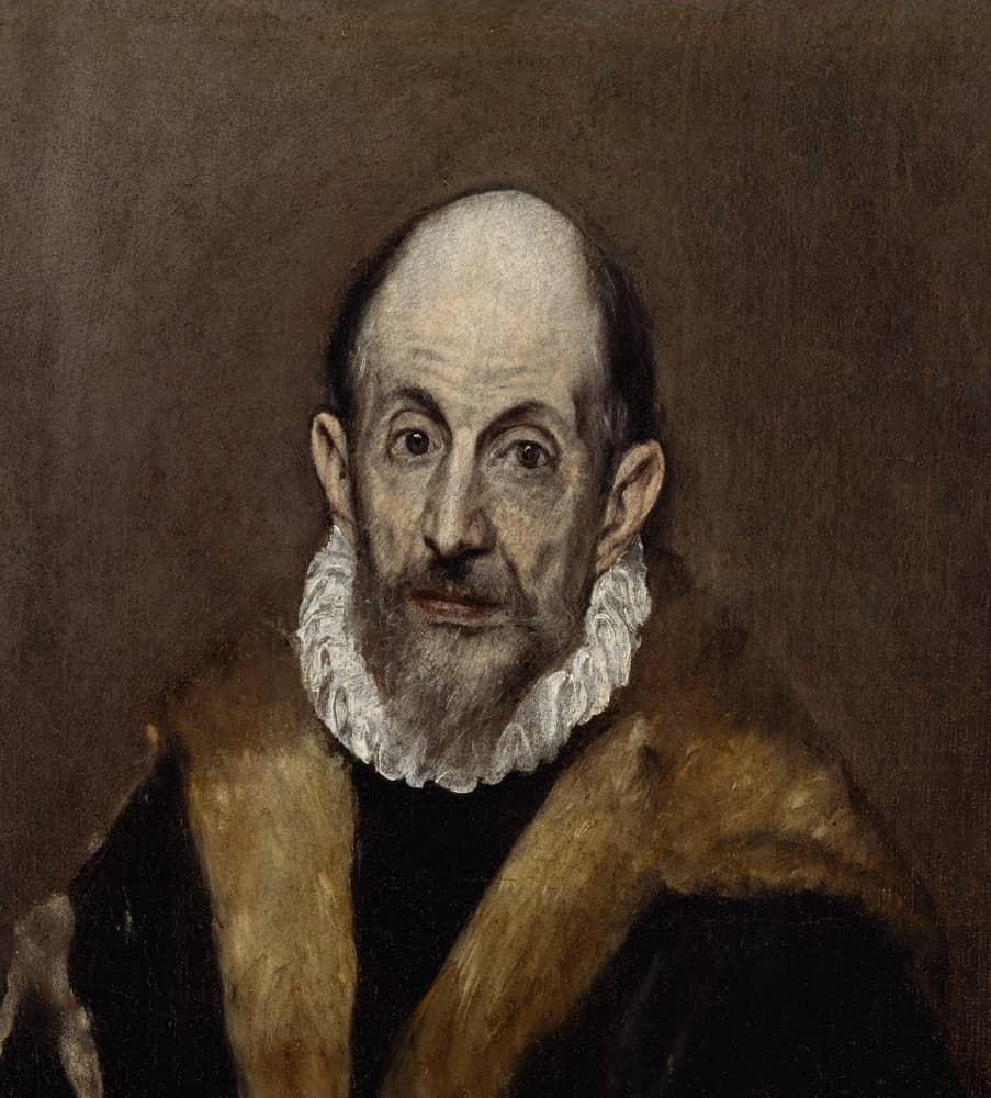 Portret El Greco
