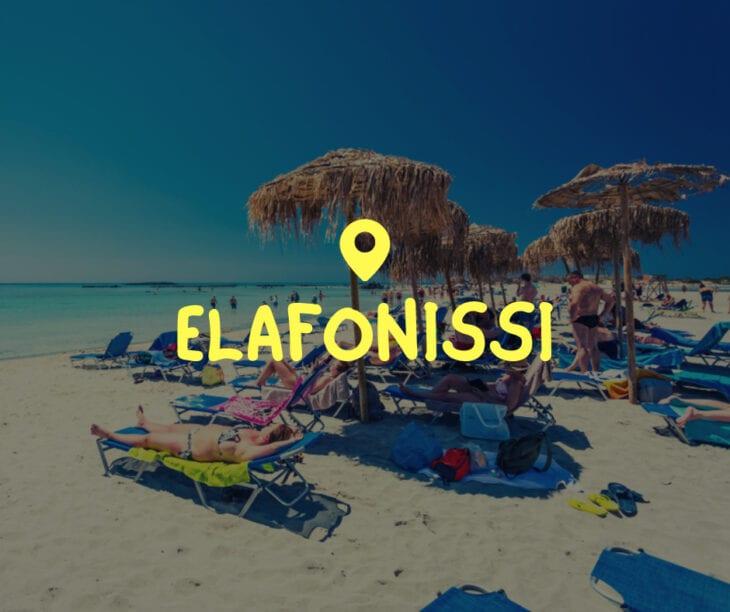 Elafonissi in Kreta
