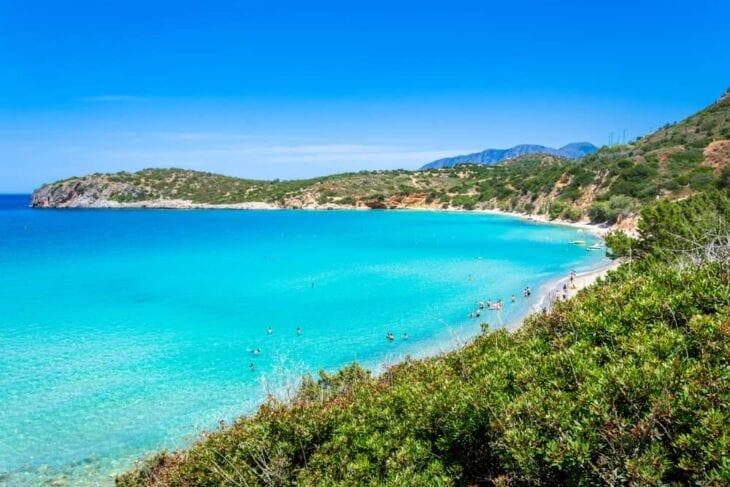 Voulisma beach in Istro