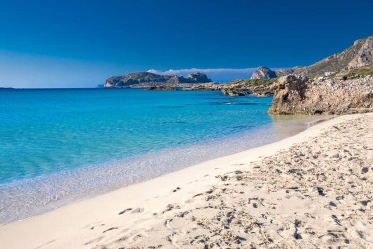 falassarna beach on Crete