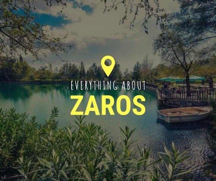 Zaros & Zaros Lake