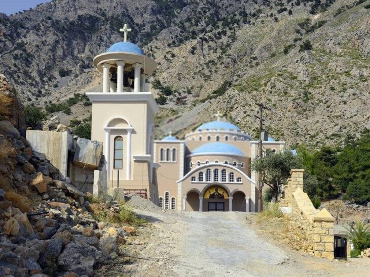 Monastery Agios Nikolaos West of Zaros