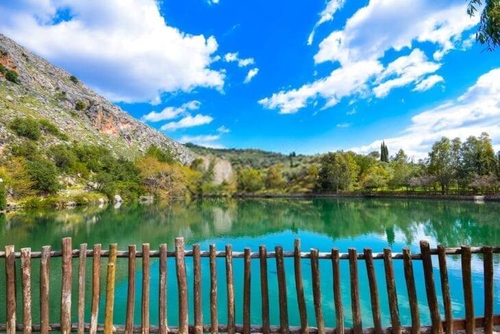 Zaros Lake View