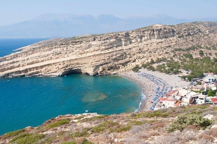 Spiaggia di Matala Creta