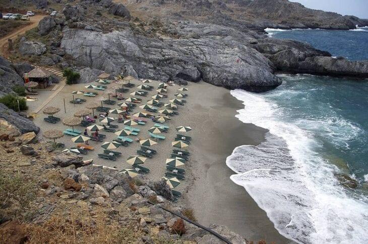 Plaża Mikro Amoudi