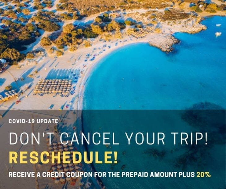 Coronavirus and Cancellations of your car rental in Crete