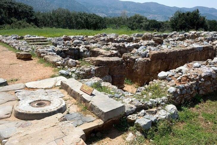 Malia Minoan-Palast