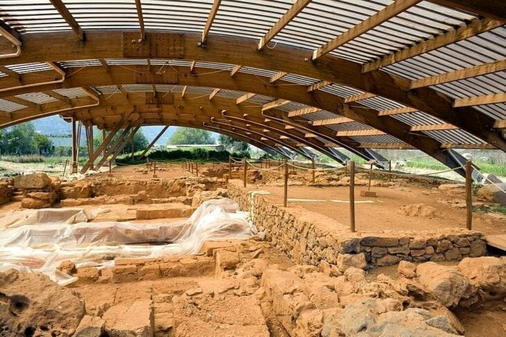 Ancient Palace in Malia