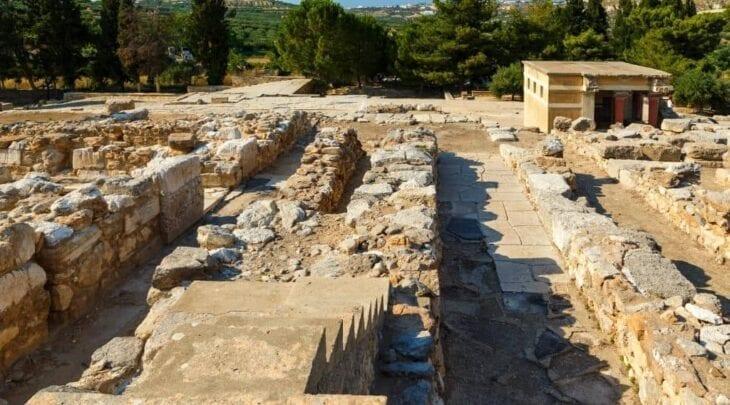 Minotaur Maze at Knossos Palace