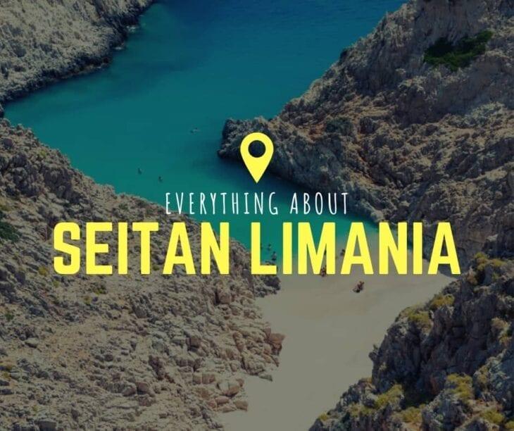 everything seitan limania beach in Crete