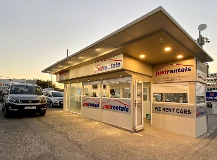 Rental Center Crete office at Heraklion Airport