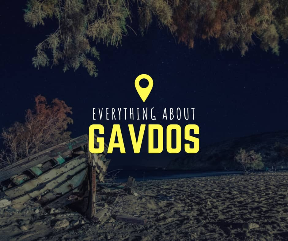 All about Gavdos