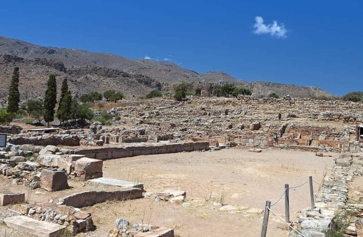 Ancient Minoan Palace of Zakros