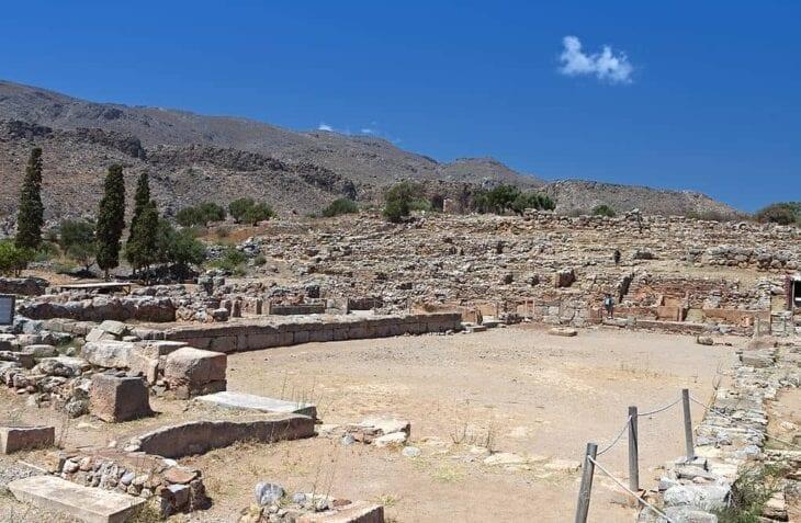 Ancien palais minoen de Zakros