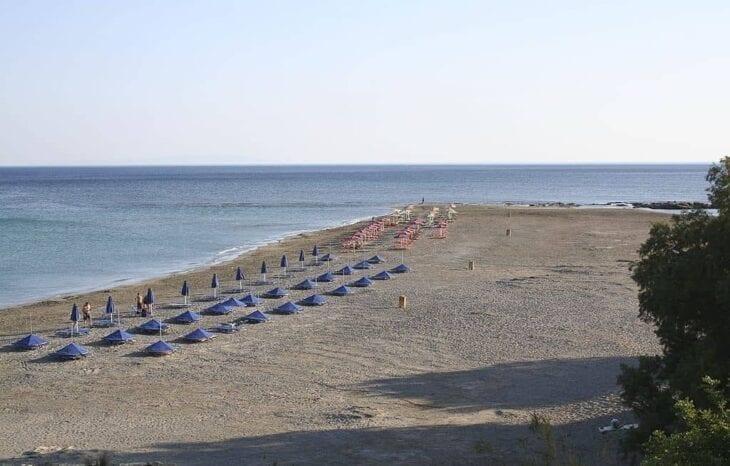 Plaża Frangokastello