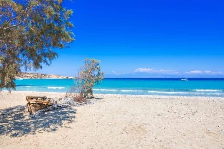 Spiaggia nudista di Sarakiniko - Gavdos