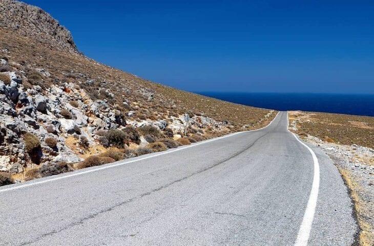 Route vers Kato Zakros