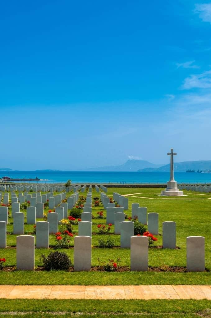 Souda bay war cemetery - view