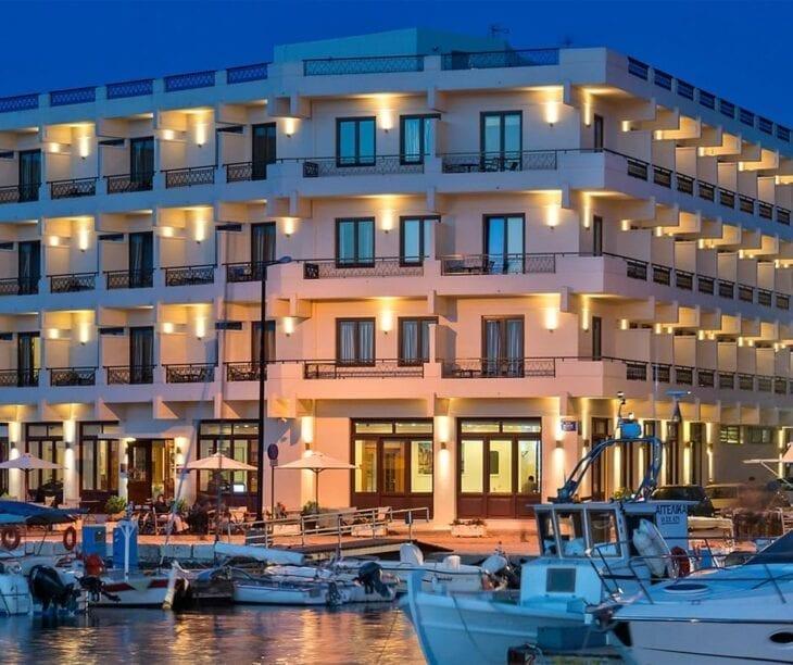 Porto Veneziano Port Side Hotel Chania