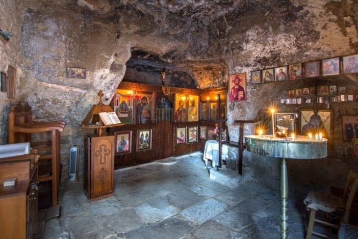 Church of Panagia in Cave Matala