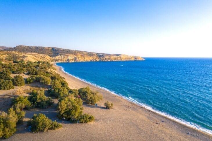 Plaża Kommos