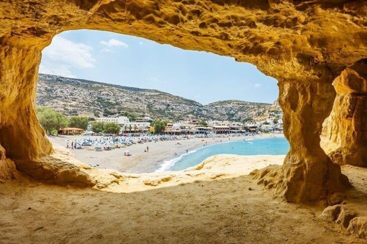 Crete Matala Beach 2020