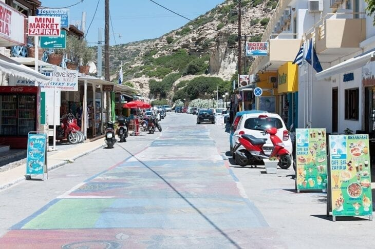 Główna droga Matali