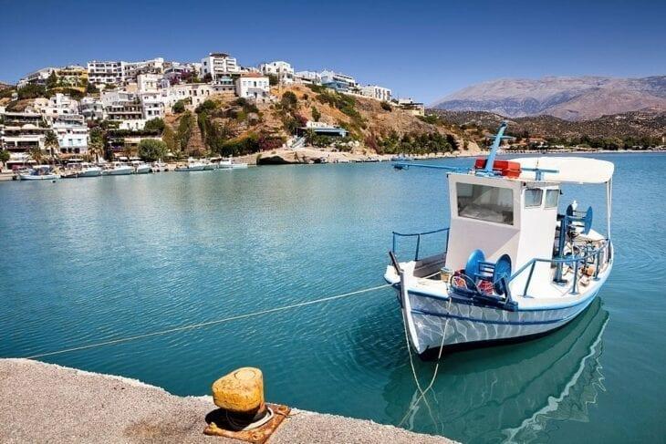 Hafen von Agia Galini auf Kreta