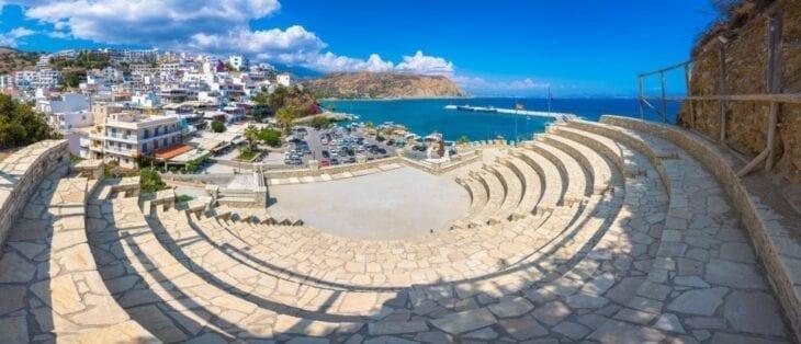 Agia Galini Antikes Theater