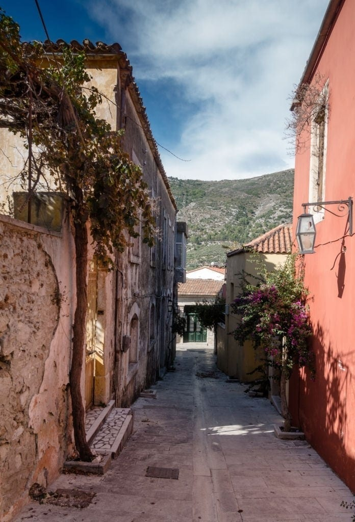 Narrow Street in Archanes