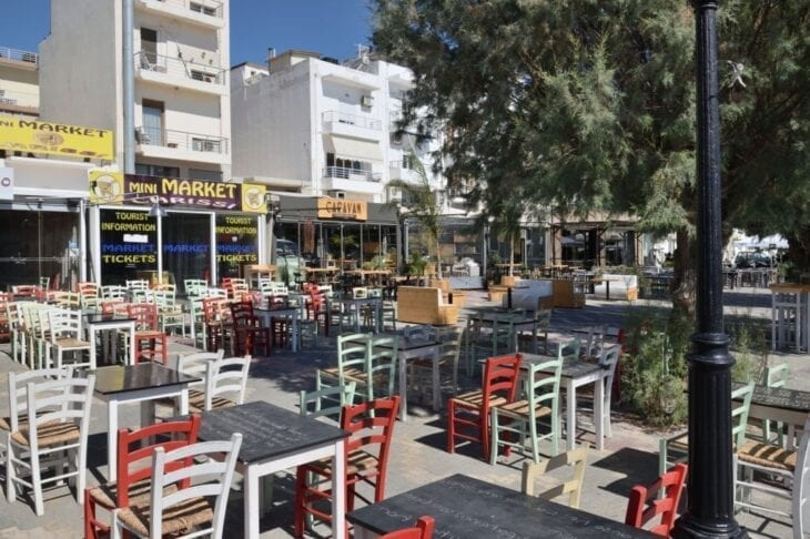 Shops at Ierapetra harbour