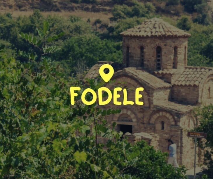 All About Fodele Crete