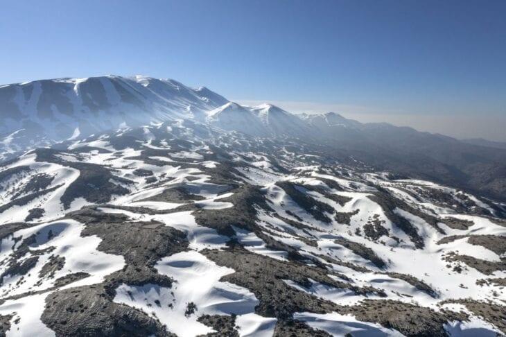 Góra Psiloritis w zimie