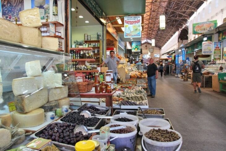 Chania Traditional Closed Market