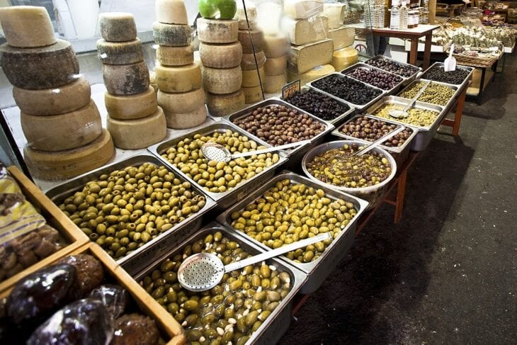 Olives in Chania Market