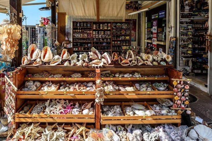 Souvenir Shop in Chania downtown