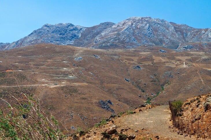 Asterousia Berge