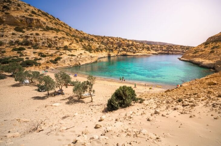 Vathy or Vathi beach